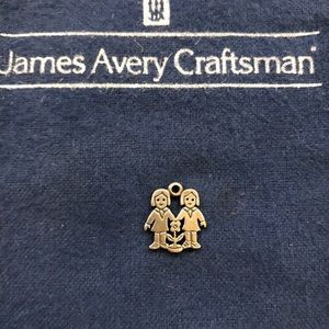 GUC James Avery Two Girls charm